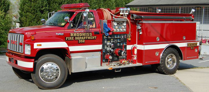 Fire – Town of Rhodhiss, Caldwell/Burke County, North Carolina